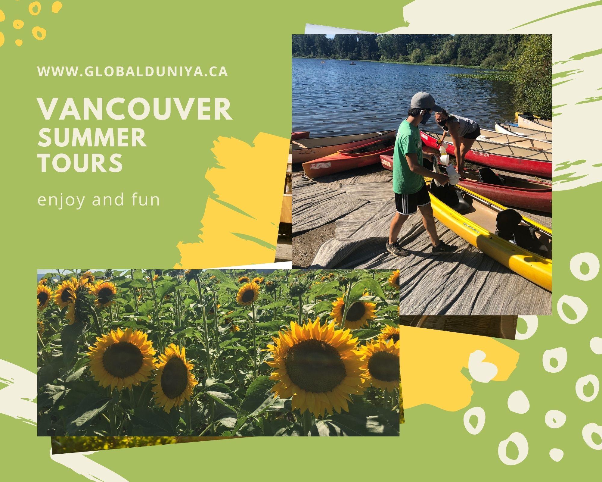 Vancouver summer tours