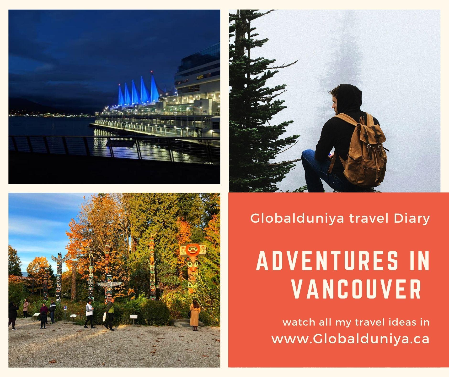 Adventure in Vancouver