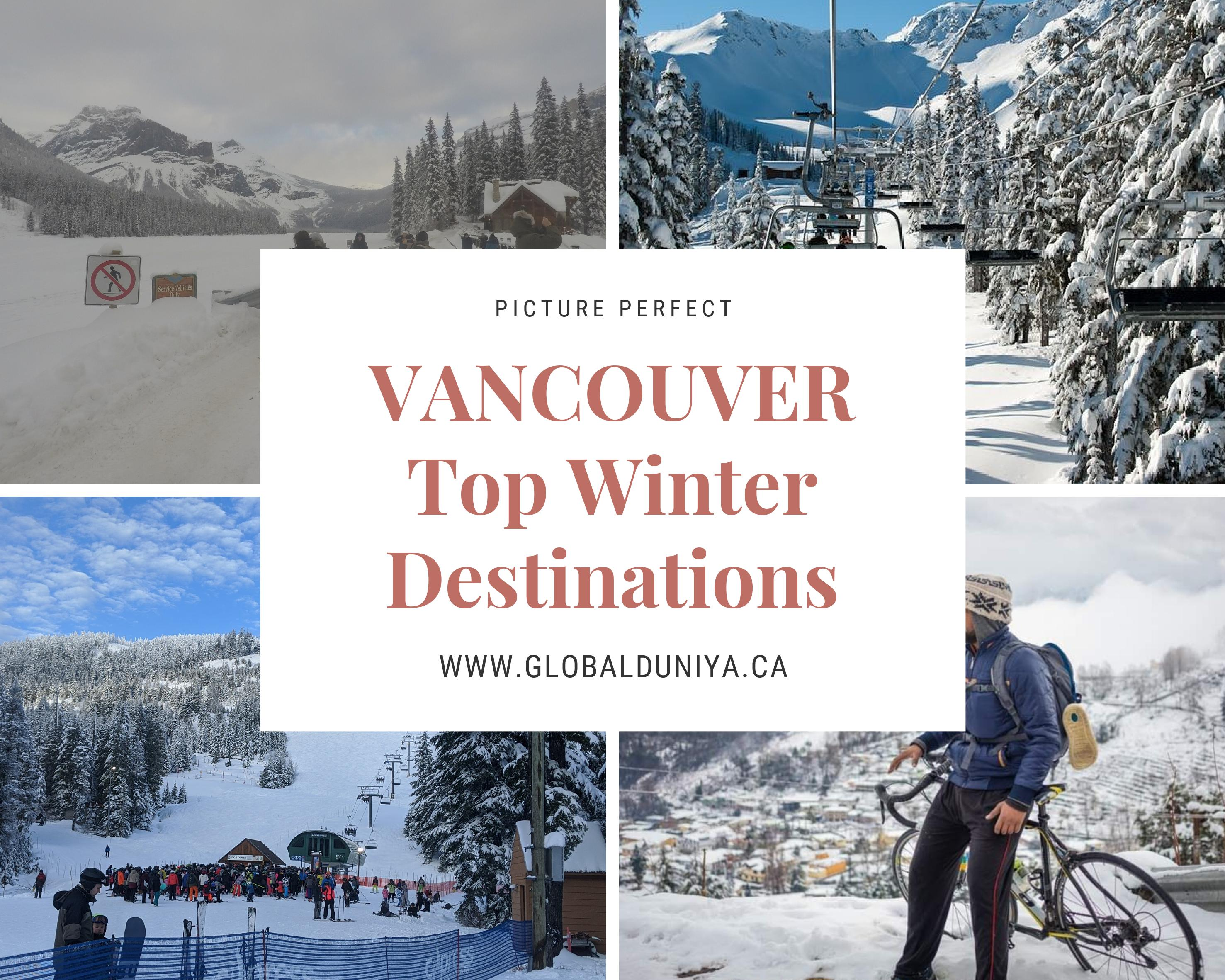 Vancouver winter tours
